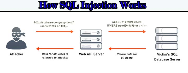 sql injection security checklist for website
