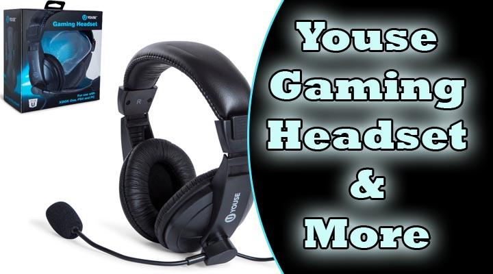 u youse gaming headset