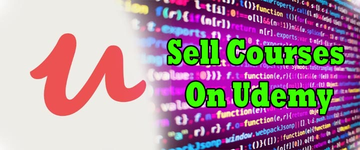 sell courses on udemy