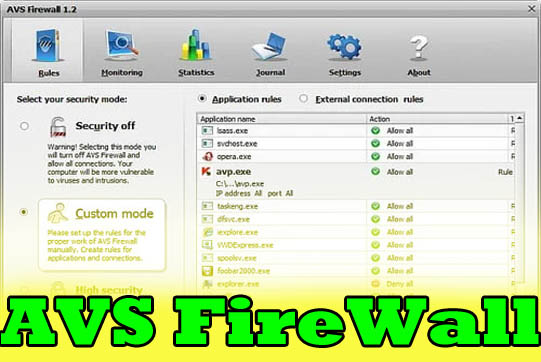 avs firewall software