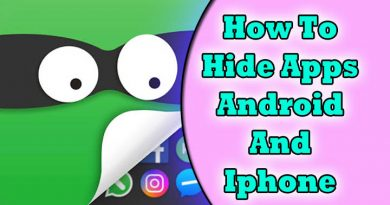 How to hide apps in android and iphone