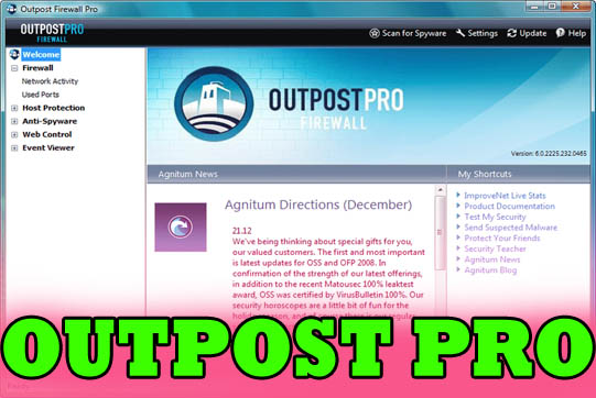 outpost pro is really the best firewall