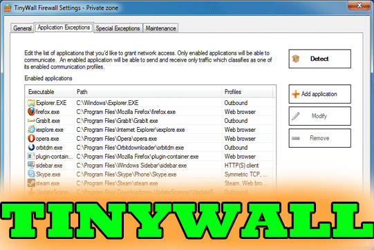 tinywall is the best firewall software