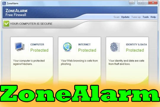 zonealarm is really the best firewall