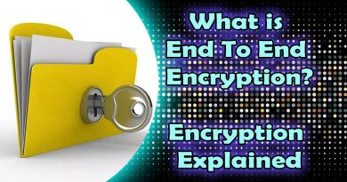 what is end to end encryption
