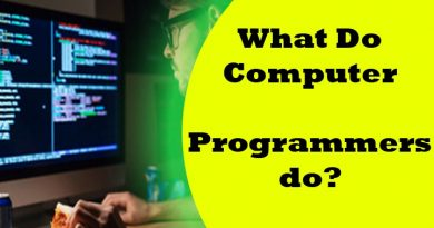 what do computer programmers do??