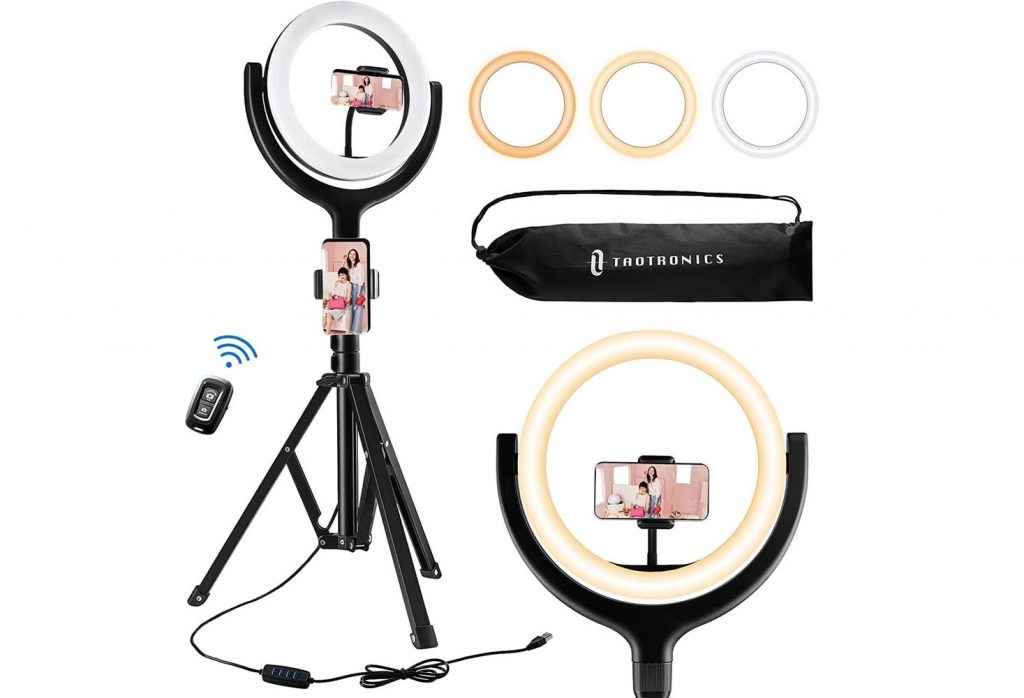 2nd best ring lights for your iPhone video quality.