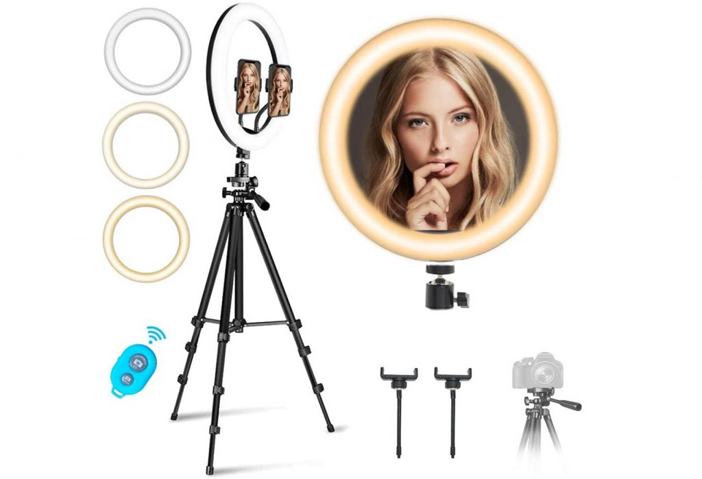 best 5 tripod and ring light for iPhone