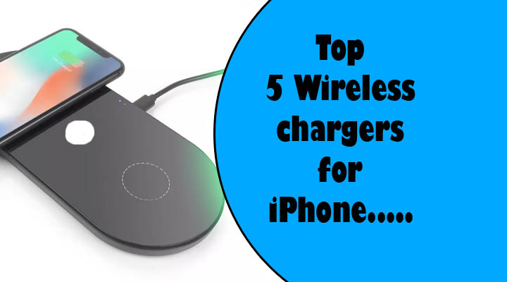 wireless chargers for iphone