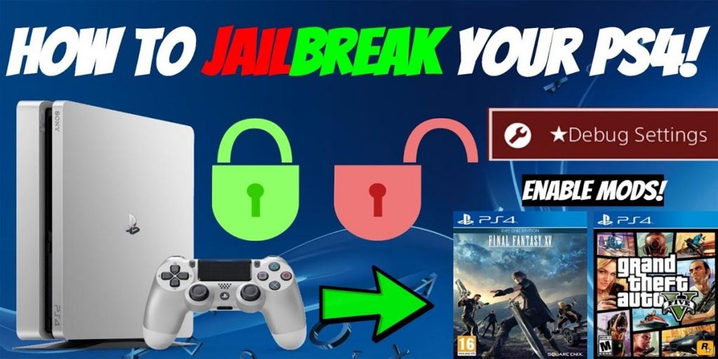 How to jail break your PS4