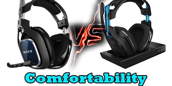 comfortability astro a40 vs a50