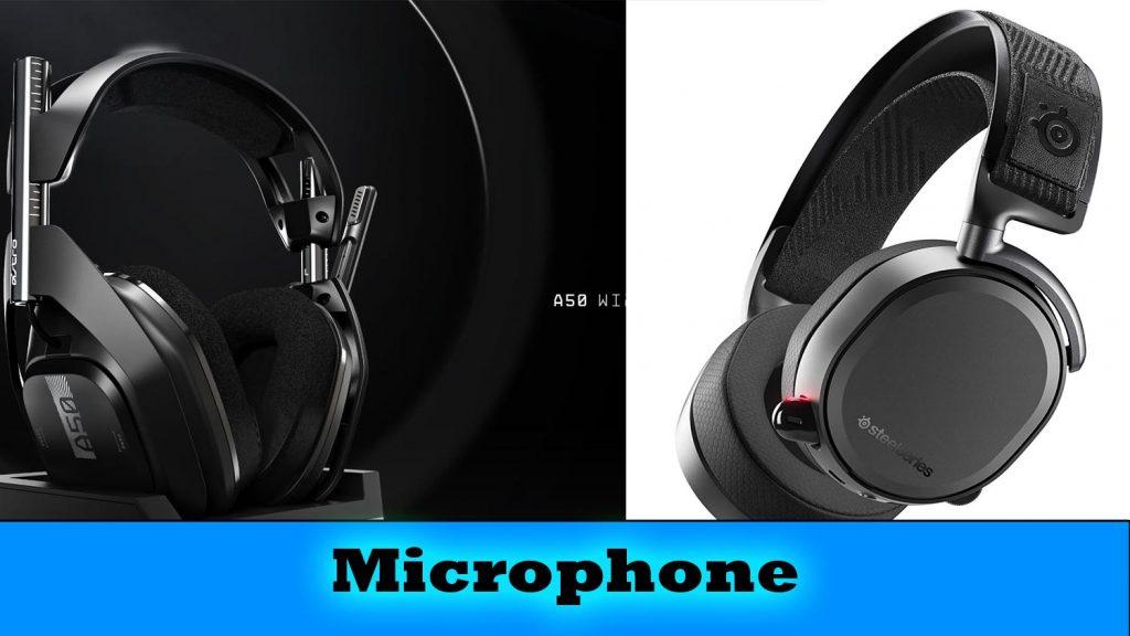 microphone Astro A50 vs Arctis Pro Wireless