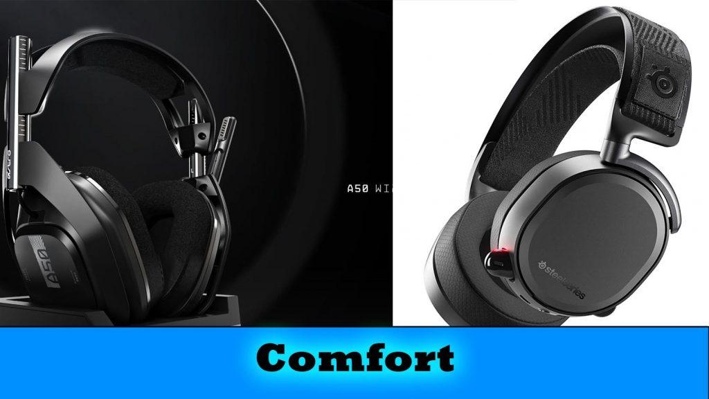 comfort in headset