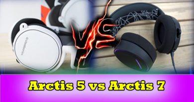 arctis 5 vs arctis 7