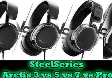 Steelseries arctis 3 vs 5 vs 7 vs pro