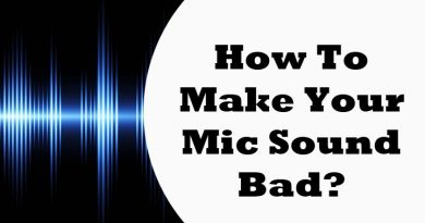 best way to create your mic sound bad